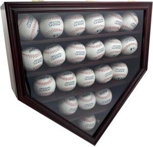 Baseball Display Case Wall